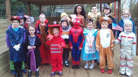 Children from Offord Primary School have been celebrating World Book Day. PICTURE: Offord Primary