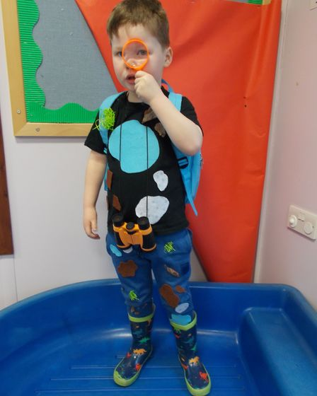 Reed First School youngsters taking part in World Book Day 2020. Picture: Reed First School