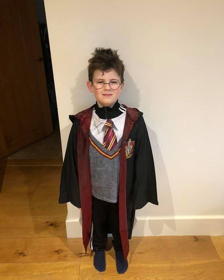 Harry Potter on World Book Day. Picture: Jade Ria