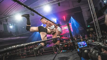 Professional wrestling from Revolution Pro is coming to the Commemoration Hall in Huntingdon on Apri