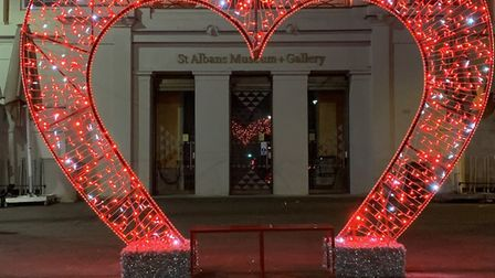 St Albans will have light installations for the month of February. Picture: St Albans