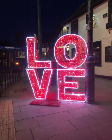 Installations will be around St Albans for February. Picture: Ian Parkinson