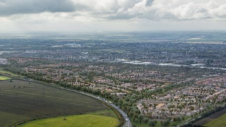 The first homes are to go on sale at Wintringham in St Neots
