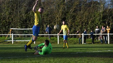 Sean McMonagle follows up a Bobby Dance shot and rounds the keeper. Picture: JAMES LATTER