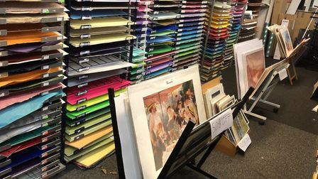 Artscape offers a bespoke, professional framing service and a variety of crafts supplies for whateve