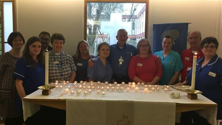 The Time to Remember service is at Hinchingbrooke Hospital