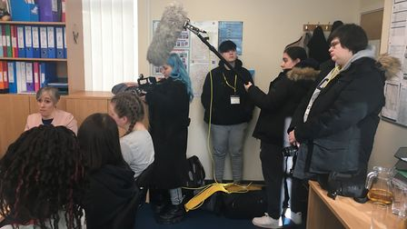 Children's Mental Health Week 2020 with It's OK To Say:STAGS and Oaklands College students.