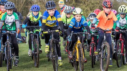 Action from the final round of the Muddy Monsters series, hosted by Verulam Cycling Club at the Marl