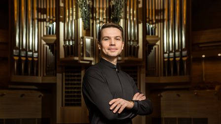 Moscow-based Konstantin Volostnov will return to St Albans Cathedral on Saturday for an organ recita