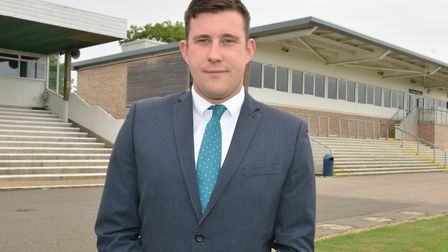 General manager Liam Johnson at Huntingdon Racecourse. Picture: ARCHANT