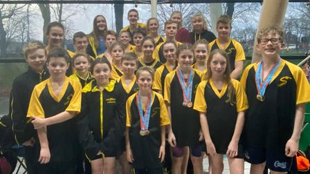 First Strokes swimmers at the Cambridgeshire Championships. Picture: SUBMITTED