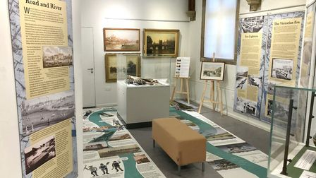 The exhibiton is at the Norris Museum in St Ives till March 14