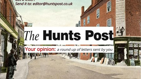 The Hunts Post letters page.