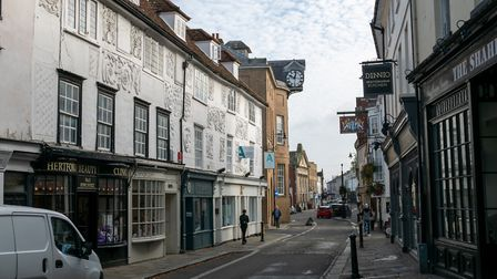 Hertford is one of the most expensive market towns in England. Picture: DANNY LOO