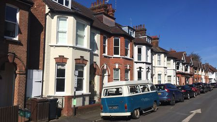 Selby Avenue, St Albans. Picture: Jane Howdle