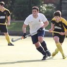 Harpenden's Nick McLean scored the late winner against Wapping. Picture: DANNY LOO