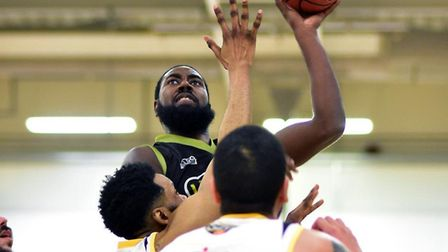 Orlan Jackman in action for Leopards against Thames Valley Cavaliers.