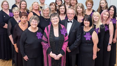 The Wyton and Brampton Military Wives Choir was established in September 2013. PICTURE: Steve Radle