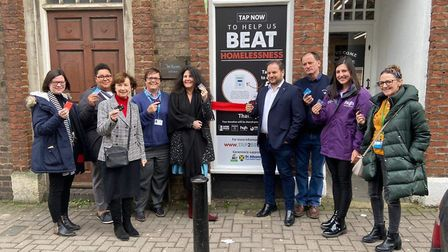 Tap2Beat launched in St Albans. Picture: Supplied