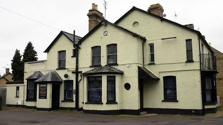 The old Victoria pub in St Neots