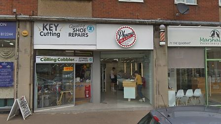 Phoenix Barbers in Marshalswick will become a wine bar in the evening. Picture: Google StreetView