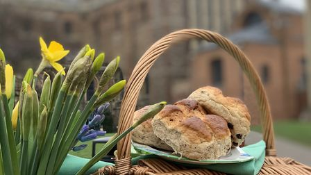 The Alban Bun is back at St Albans Cathedral.