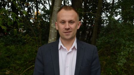 Daniel Laycock has stepped down as leader of the Huntingdonshire Green Party.