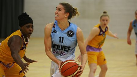 Lizzy Harrison top scored for Oaklands Wolves at Caledonia Pride. Picture: KARYN HADDON