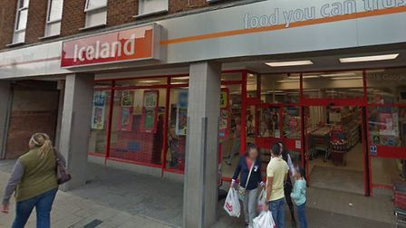 The Iceland store in Huntingdon.