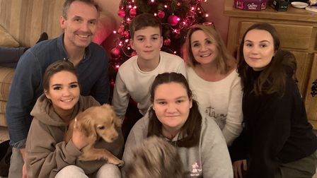 Alice and her family in December. PICTURE: Mapgas