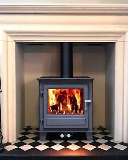 A Clock Blithfield 5 woodburning stove could make a heart-warming addition to your home. Picture: Co