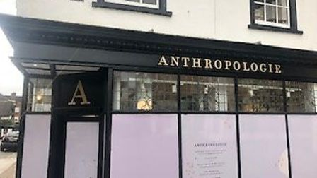 The St Albans Anthropologie store will not open for six months due to building issues. Picture: Laur