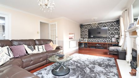 French doors lead from the lounge to the garden. Picture: Paul Barker Estate Agents