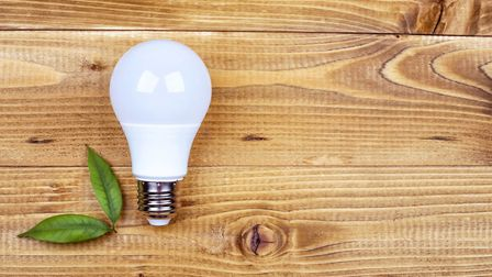 Lightbulb moment: LED is the way to go in an eco home. Picture: PA Photo/iStock