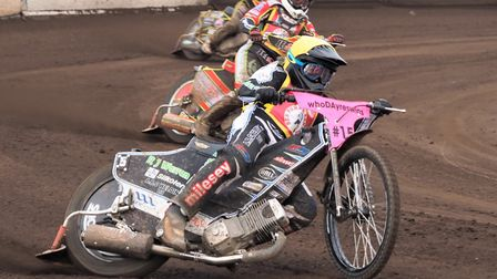 Danny King in action during the Ben Fund Bonanza. Picture: IAN RISPIN