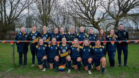 St Albans Ladies have reached the final of the Beds & Herts Women's League Cup. Picture: LEONIE CITR