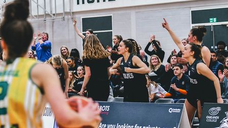 No decision has yet been made of the final standing of Oaklands Wolves in the WBBL. Picture: LELLO A