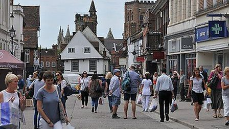 St Albans city centre - one of the areas which would come under the article 4 powers