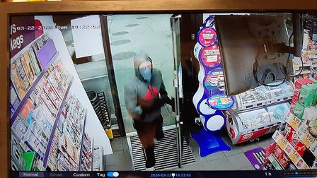 St Ives Robbery CCTV Images PICTURE: Cambridgeshire Police