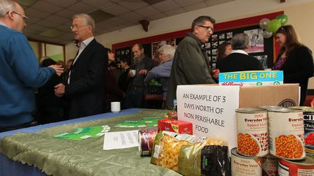 The Royston Foodbank closed at the end of November. Picture: DANNY LOO