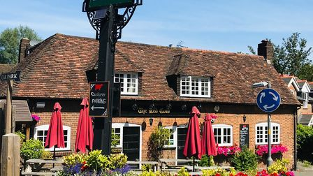 The Red Cow in Harpenden.