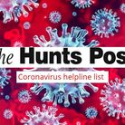 The Hunts Post has put together a helpline list for thoe who may be isolated due to Covid-19.