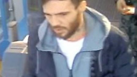 Police have released CCTV images of two men they would like to speak to following a burglary in Harp