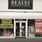 The Beals store in St Neots .