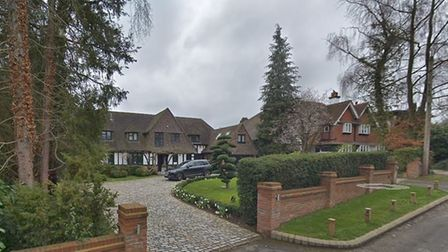 Radlett's The Warren has been named as Hertfordshire's most expensive address. Picture: Google Stree