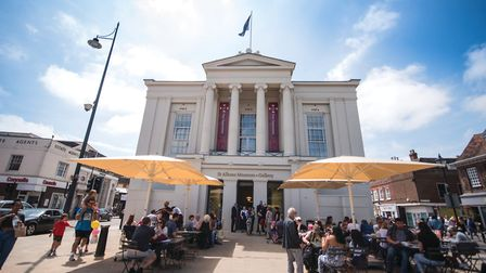 St Albans Museum + Gallery is to temporarily close due to the coronavirus pandemic. Picture: Elyse M
