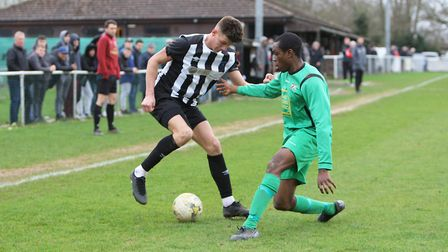 Colney Heath and Tring Athletic should meet each other again in the Isthmian League. Picture: KARYN