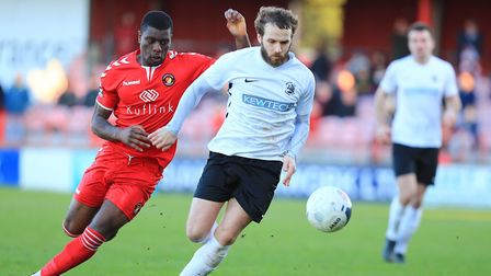 Royston Town and Ebbsfleet United could meet each other again in National League South in 2020-2021.