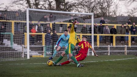 Hitchin Town will remain in the Southern League Premier Division Central. Picture: PETER ELSE