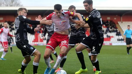 Stevenage will face a whole new set of challenges after relegation back to the National League. Pict